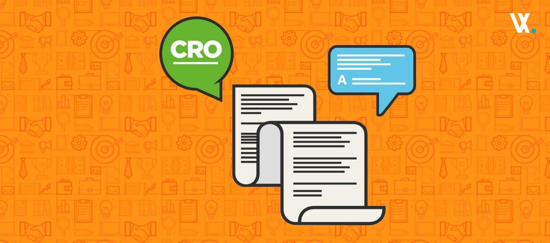 Como desenvolver um roteiro de teste CRO?