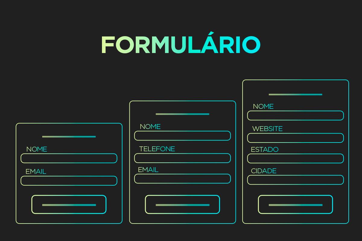 Exemplos de formulários