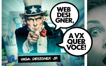 Vaga: Webdesigner Jr