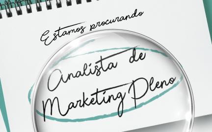 Vaga: Analista de Marketing Pleno