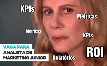 Vaga: Analista de Marketing Júnior
